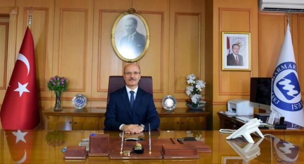 Rektörümüz Sayın Prof. Dr. Emin Özvar'ın 3-10 Mayıs Marmara Avrupa Haftası mesajı